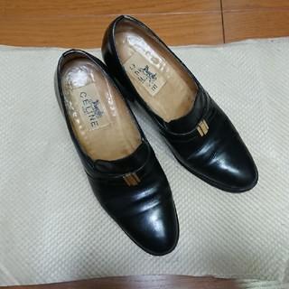セリーヌ(celine)の値下げ 70s CELINE セリーヌ パンプス ローファー サイズ6 22.5(ローファー/革靴)