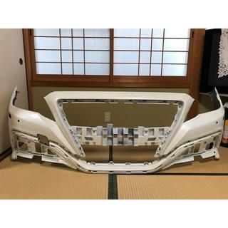 トヨタ(トヨタ)の【使用僅か】クラウン220  RS アドバンスバンパー パールホワイト 小傷のみ(車種別パーツ)