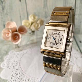 サンローラン(Saint Laurent)の【動作OK】Yves Saint Laurent  腕時計 スクエア メンズ(腕時計(アナログ))