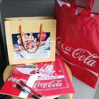 コカコーラ(コカ・コーラ)のコカ・コーラ セット(ノベルティグッズ)