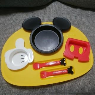 ディズニー(Disney)のミッキーマウス プレート(プレート/茶碗)