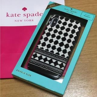 ケイトスペードニューヨーク(kate spade new york)の新品 ケイトスペード iPhoneXケース(モバイルケース/カバー)