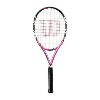 ウィルソンスタッフ(Wilson Staff)の【新品】ウィルソン 硬式テニスラケット PRO PINK グリップサイズ:1(ラケット)