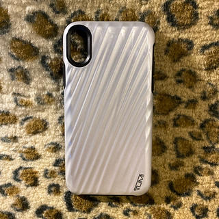 トゥミ(TUMI)のiPhone X 用スマホケース🌟TUMI 新品同様(iPhoneケース)