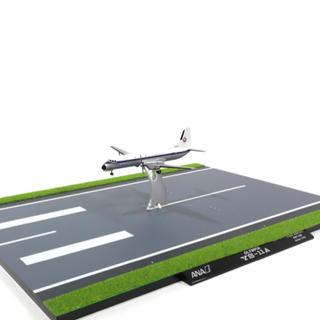 エーエヌエー(ゼンニッポンクウユ)(ANA(全日本空輸))のYS-11A ANA全日空 伊丹空港RWY32Rジオラマ板付1/200(模型/プラモデル)