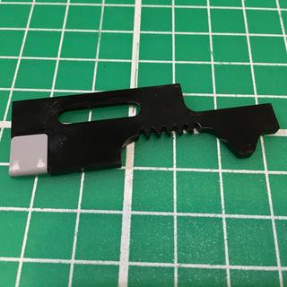 マルイ(マルイ)の東京マルイ製ライトプロM4シリーズ用セレクタープレート(カスタムパーツ)