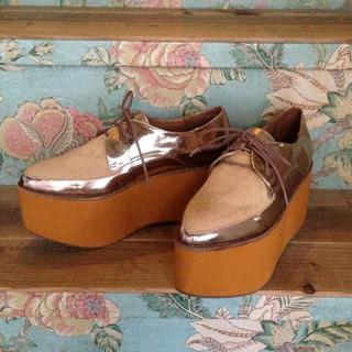 ジェフリーキャンベル(JEFFREY CAMPBELL)の厚底シューズ(ローファー/革靴)