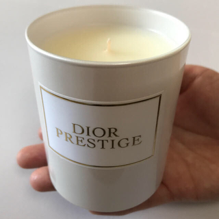 ディオール(Dior)の【新品・未使用】Dior プレステージ フレグランスキャンドル 190g 限定品(キャンドル)