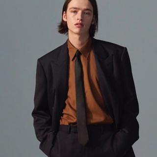 ジョンローレンスサリバン(JOHN LAWRENCE SULLIVAN)の【値下げ】littlebig  ブラウンシャツ(シャツ)