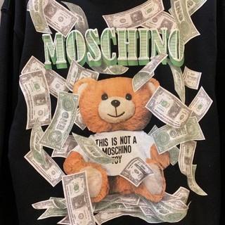 モスキーノ(MOSCHINO)のMOSCHINO パーカー 19秋コーデ(パーカー)