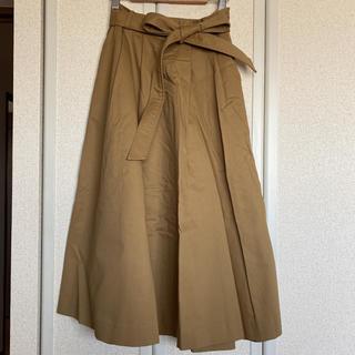 ローズバッド(ROSE BUD)の美品 ROSEBUT ローズバッド トレンチ スカート (ひざ丈スカート)
