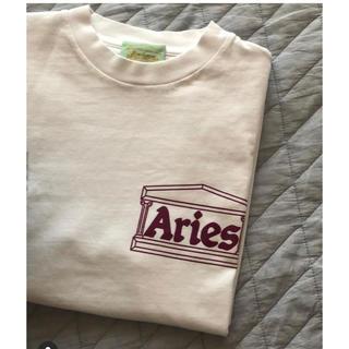 Aries 20ss tシャツ L ホワイト