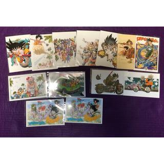 ドラゴンボール(ドラゴンボール)の【送料無料】ドラゴンボール ポストカード全12種類セット(印刷物)