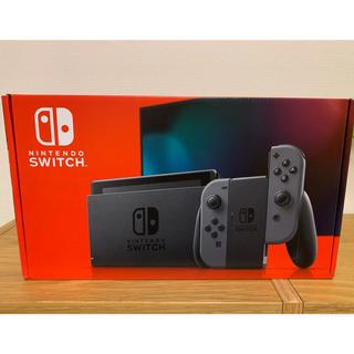 ニンテンドースイッチ(Nintendo Switch)の新品 任天堂 Nintendo Switch 本体 ニンテンドースイッチ グレー(家庭用ゲーム機本体)