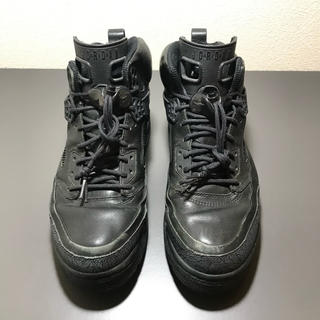 ナイキ(NIKE)のNIKE JORDAN SPIZILE ALL BLACK 27.5cm 希少(スニーカー)