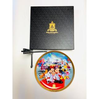 ディズニー(Disney)の週末限定*美品* 東京ディズニーランド10周年記念装飾用プレート1993年(食器)