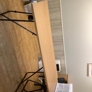 ムジルシリョウヒン(MUJI (無印良品))の折り畳みテーブル 無印良品(テーブル/チェア)