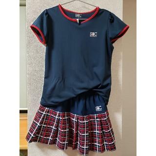 セントクリストファー★テニスウェア★ゲームシャツ♪スコート★M(ウェア)