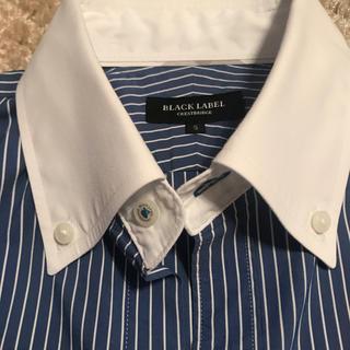 ブラックレーベルクレストブリッジ(BLACK LABEL CRESTBRIDGE)の昨年購入 クレストブリッジ  ブラックレーベル 半袖 シャツ メンズ ストライプ(シャツ)