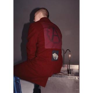 シュプリーム(Supreme)の激レア Supreme Undercover wool over coat(チェスターコート)