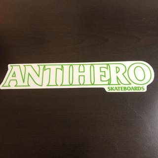 【縦4.2cm横22.2cm】ANTI HEROステッカー