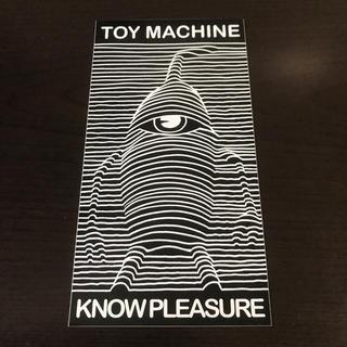 トイマシーン(Toy Machine)の【縦15.1cm横7.9cm】TOI MACHINE ステッカー(スケートボード)