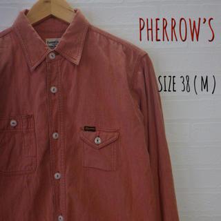 フェローズ(PHERROW'S)のPHERROW'S フェローズ 長袖シャツ サイズ38(シャツ)