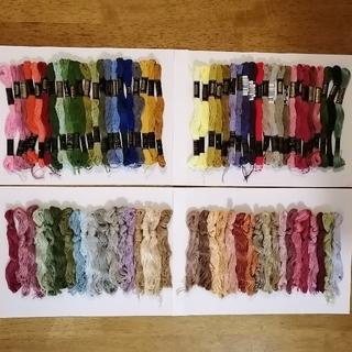 オリンパス(OLYMPUS)の刺繍糸 OLYMPUS★80本 80色セット  オリムパス 25番 刺しゅう糸(生地/糸)