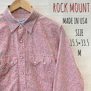 ROCK MOUNT ロックマウント ウエスタンシャツ MADE IN USA