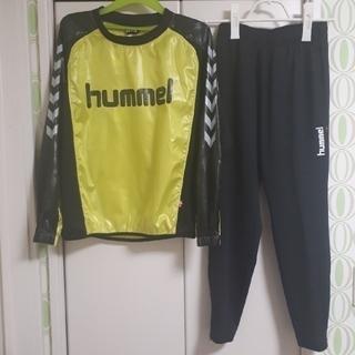 ヒュンメル(hummel)の新品未使用hummelヒュンメル  ピステトップ、パンツ上下セット(ウェア)
