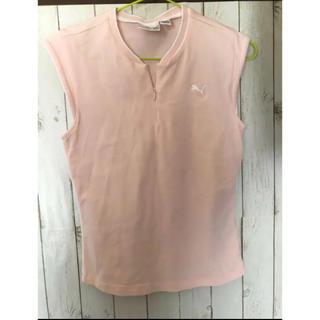プーマ(PUMA)のプーマ シャツ ポロシャツ ノースリーブシャツ(ポロシャツ)