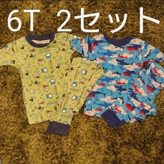 コストコ(コストコ)の【まとめ売り】KIRKLAND 半袖パジャマ 2セット 6T(パジャマ)