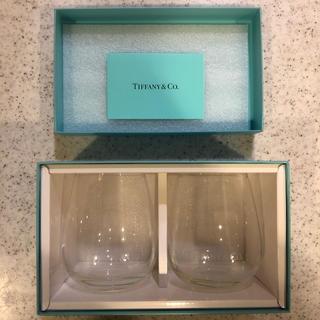 ティファニー(Tiffany & Co.)の●mana様専用●【新品未使用】ティファニーペアグラス ロゴ入り(タンブラー)