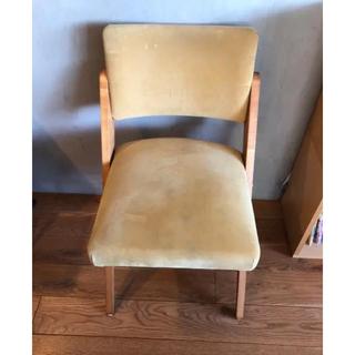 イデー(IDEE)のcomplex  コンプレックス spy chair イエロー(ダイニングチェア)