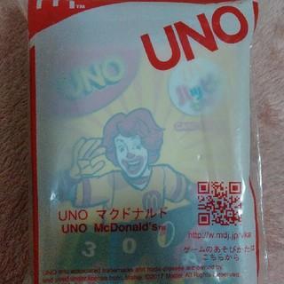 マクドナルド(マクドナルド)のマクドナルドのハッピーセットのUNO(トランプ/UNO)