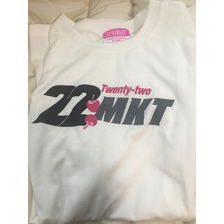 エーケービーフォーティーエイト(AKB48)の22Market Tシャツ 白 M(Tシャツ(半袖/袖なし))