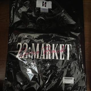 エーケービーフォーティーエイト(AKB48)の22Market Tシャツ 黒 L(Tシャツ(半袖/袖なし))