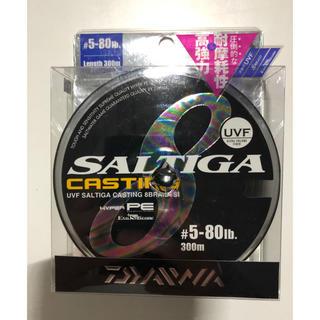 ダイワ(DAIWA)のダイワ ソルティガ キャスティング 5号 80Ib 300m 1回数時間使用品(釣り糸/ライン)