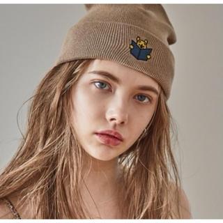 ディズニー(Disney)のjuemi ♡ pooh knit cap(ニット帽/ビーニー)
