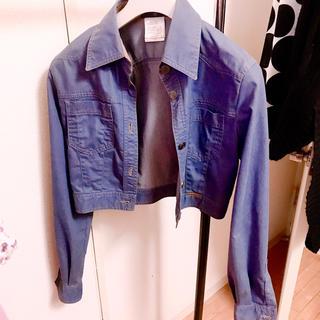 シャネル(CHANEL)の【レア★シャネル】襟と袖の裏が素敵♡(Gジャン/デニムジャケット)