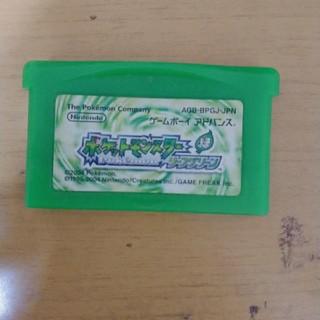 ポケットモンスター 緑 リーフグリーン(携帯用ゲームソフト)