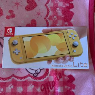 ニンテンドースイッチ(Nintendo Switch)のニンテンドースイッチライト イエロー 新品未開封(携帯用ゲーム機本体)