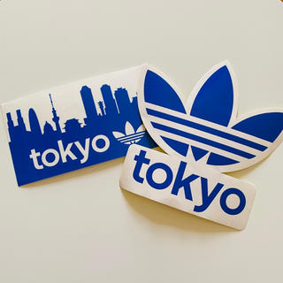 アディダス(adidas)のadidas アディダス ロゴステッカー オリジナル 2枚セット(その他)