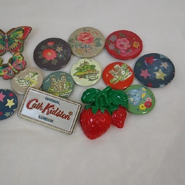 Cath Kidston(キャスキッドソン)のキャスキッドソン 缶バッチ ピンバッジ その他のその他(その他)の商品写真