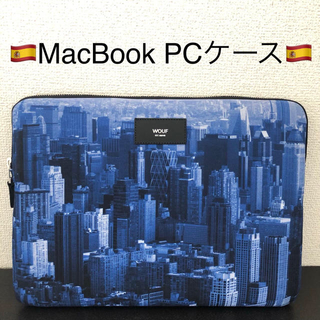 UNITED ARROWS - WOUF MacBook sleeve PCケース 13inch NYC