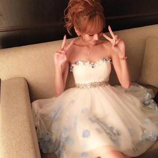 エミリアウィズ(EmiriaWiz)のEmiriaWiz♡花びらミニドレス(ナイトドレス)