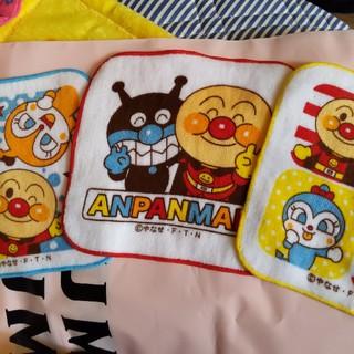 アンパンマン(アンパンマン)のアンパンマン ミニタオルハンカチ3枚組(ハンカチ)