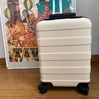 ムジルシリョウヒン(MUJI (無印良品))の無印良品 ハードキャリー・19L アイボリー(スーツケース/キャリーバッグ)