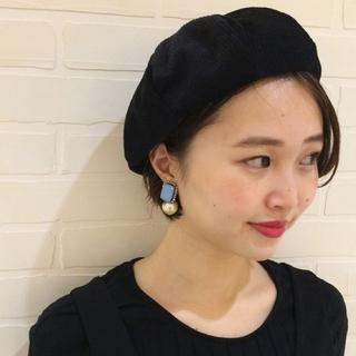 カスタネ(Kastane)のkastane ベレー帽 コーデュロイ(ハンチング/ベレー帽)