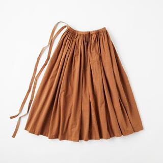 イデー(IDEE)のイデーIDEE POOLギャザーエプロン 巻きスカート(ロングスカート)